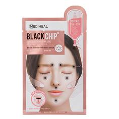 Маска для лица `MEDIHEAL` `CIRCLE POINT MASK` BLACK CHIP увлажняющая с массажным эффектом 25 мл