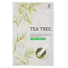 Маска для лица `24 MIRACLE` с экстрактом чайного дерева 22 мл