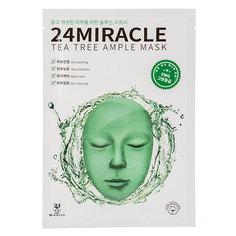 Маска для лица `24 MIRACLE` AMPLE MASK с экстрактом чайного дерева 25 мл