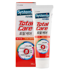 Паста зубная `CJ LION` SYSTEMA Total care (orange mint) 120 г