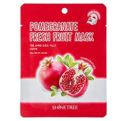 Маска для лица `SHINETREE` FRESH FRUIT с экстрактом граната 23 г