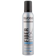 Мусс для укладки волос `SYOSS` FIBER FLEX Упругий объем 250 мл