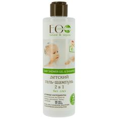 Гель-шампунь детский `EO LABORATORIE` 2 в 1 без слез (0 месяцев+) 250 мл