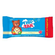 Салфетки детские `ТИК-ТАК` без запаха 100 шт