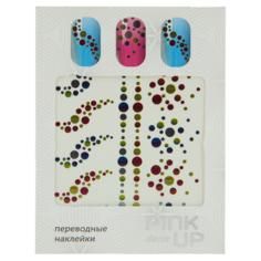 Наклейки для ногтей переводные `PINK UP` NAIL DESIGN тон 556