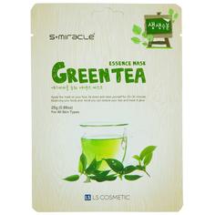 Маска для лица `S+MIRACLE` с экстрактом зеленого чая 25 г