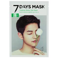 Маска для лица `FORENCOS` `7 DAYS MASK` THU с экстрактом чайного дерева (расслабляющая) 25 мл