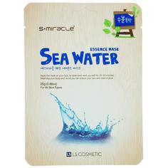 Маска для лица `S+MIRACLE` с морской водой 25 г