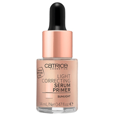 Праймер для лица `CATRICE` LIGHT CORRECTING SERUM PRIMER тон 020 жидкий