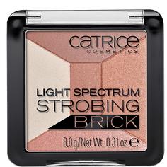 Хайлайтер для лица `CATRICE` LIGHT SPECTRUM STROBING BRICK тон 10 (5 в 1)