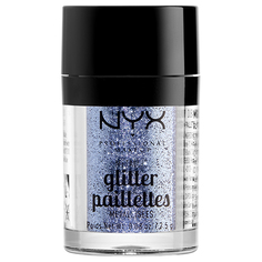 Глиттер для лица и тела `NYX PROFESSIONAL MAKEUP` METALLIC GLITTER тон 02 darkside