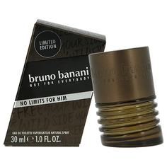 Туалетная вода `BRUNO BANANI` NO LIMITS (муж.) 30 мл