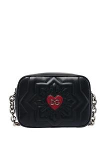 Сумка с красным сердцем Glam Dolce&;Gabbana
