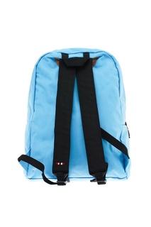Голубой текстильный рюкзак Napapijri