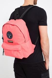 Розовый текстильный рюкзак Napapijri