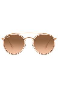 Солнцезащитные очки round double bridge - Ray-Ban