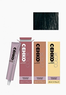 Краска для волос Cehko Color Explosion 1/1 Сине-черный/Blau schwarz 60 мл