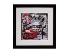 """Постер с паспарту в раме """"London Portobello"""" M Style"""
