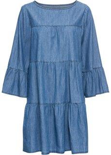 Платье с имитацией денима (синий «потертый») Bonprix
