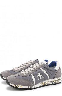 Комбинированные кроссовки Lucy на шнуровке Premiata