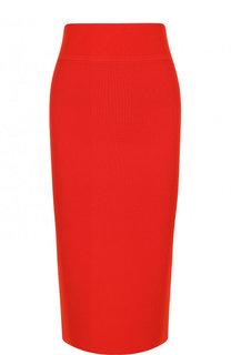 Однотонная юбка-карандаш BOSS