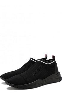 Однотонные текстильные кроссовки Moncler