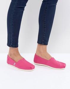 Парусиновые туфли TOMS - Розовый
