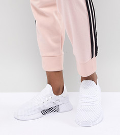 Женские белые кроссовки adidas Originals Deerupt - Белый