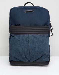 Джинсовый рюкзак Diesel - Темно-синий