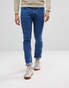 Синие выбеленные джинсы скинни Lee Luke - Синий