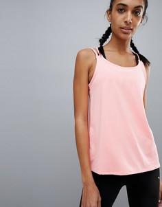Розовая спортивная майка Puma - Розовый