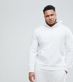 Спортивный костюм из худи и облегающих джоггеров ASOS - Белый