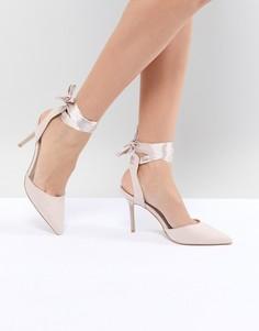 Туфли-лодочки с завязками Forever New - Розовый