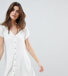 Фактурное пляжное платье Zulu & Zephyr - Белый