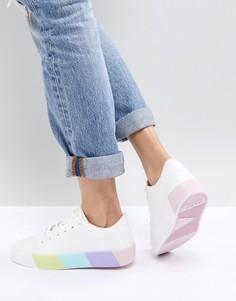 Кроссовки с контрастной подошвой ALDO - Белый