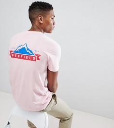 Эксклюзивная розовая футболка Penfield - Розовый