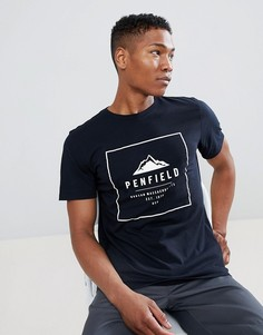 Черная футболка Penfield Alcala - Черный