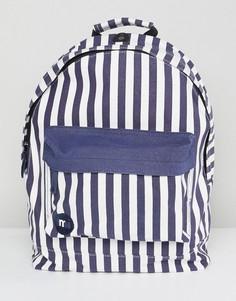 Синий рюкзак в полоску Mi-Pac Seaside - Синий