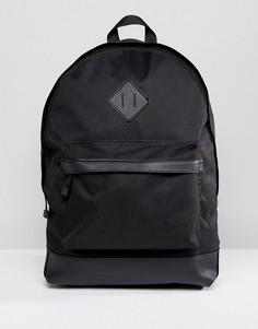 Черный рюкзак с карманами New Look - Черный