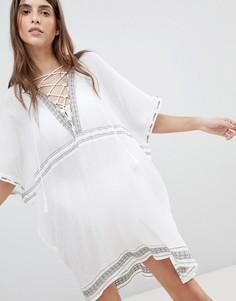Пляжное платье Vitamin A - Белый