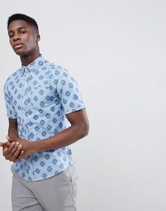 Рубашка с короткими рукавами Gandys - Синий