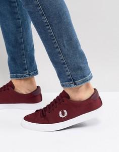 Красные кроссовки Fred Perry Underspin - Красный