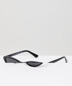 Солнцезащитные очки кошачий глаз Vogue by Gigi Hadid - Черный