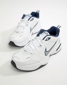 Белые кроссовки Nike Air Monarch 415445-102 - Белый