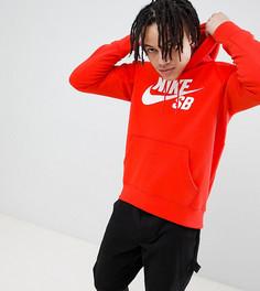 Красный худи Nike SB Icon эксклюзивно для ASOS - Красный