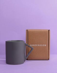 Фарфоровая кружка с треугольной ручкой Moxon & Aandersson - Мульти