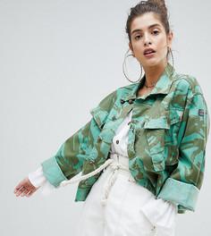Камуфляжная куртка Reclaimed Vintage Revived - Зеленый