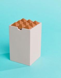 Шкатулка с пирамидальным дизайном Moxon & Korridor Oblong - Мульти