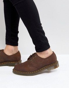 Туфли с 3 парами люверсов Dr.Martens Original 11838201 - Коричневый