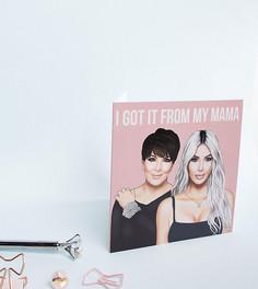 Эксклюзивная открытка на День матери I Got It From My Mama Central 23 Kris & Kim - Мульти